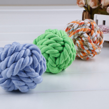 Hot selling toys durable chew pet toys for dog cotton rope ball import from china