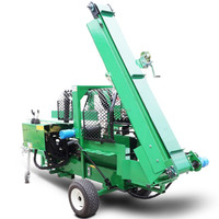 mobile firewood processor with log lifter