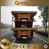 2015 High quality tri axle side wall semi trailer