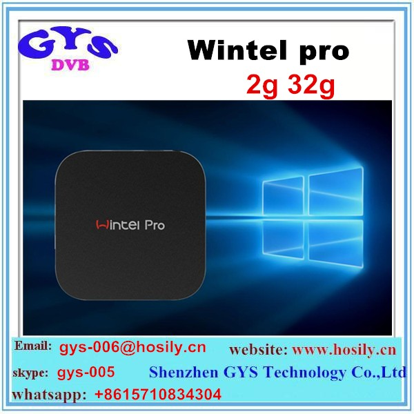 Intel Z8300 Quad Core 4K Windows10 MIni PC 2GB 32GB Wintel Pro CX W8 pro tv box
