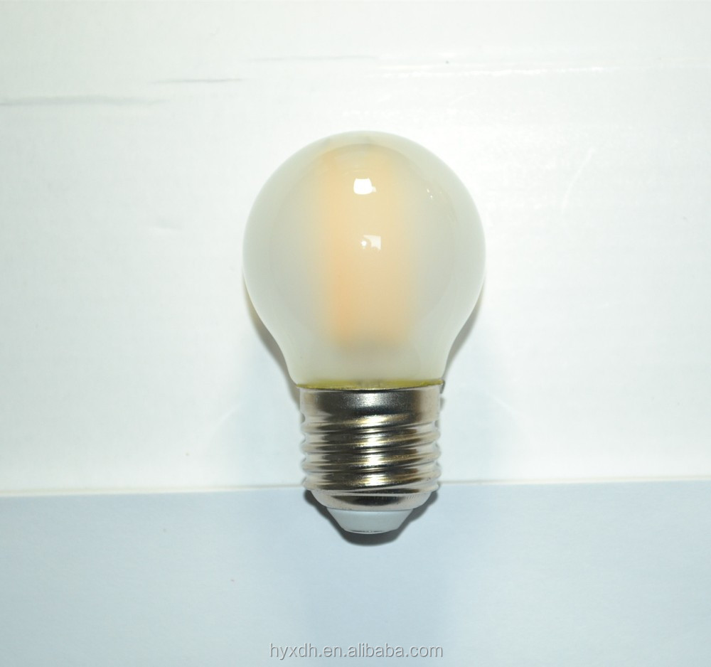 G45 Led light bulbs E27 led lamp strip filament bulb