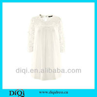 new arrival fashion party sex lace neck dress