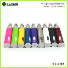 greesound gs ego ii 2200mah battery ego vaporizer pen ego 2200