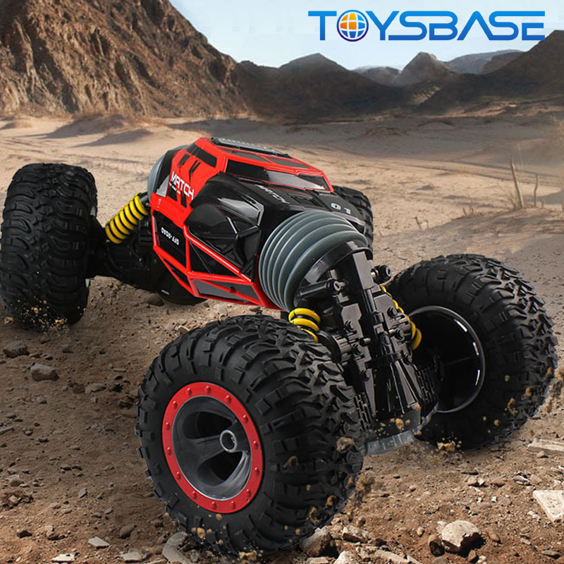 MARCH EXPO | 2.4G 4WD Double Side Rolling Amphibious Remote Control Stunt RC Car