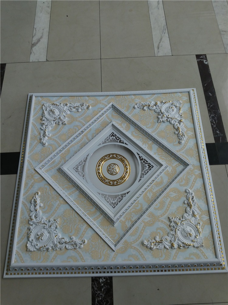Top sale PS material hall ceiling POP design