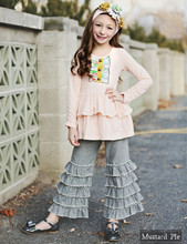 children boutique adore children clothing usa sweet girls multi ruffle cotton custom kids clothing