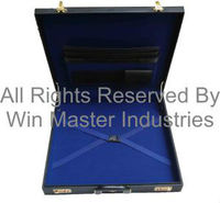 Grand Lodge size Regalia Case in Real Leather
