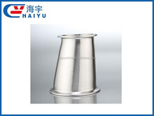 Sanitary Stainless Steel clamp eccentric reducer