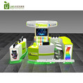 Best selling mobile phone display kiosk & cell phone accessories display kiosk design for sale