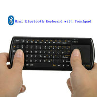 Bluetooth Backlit Keyboard With Flashlight and Touchpad,Tablet Bluetooth Keyboard 10.1