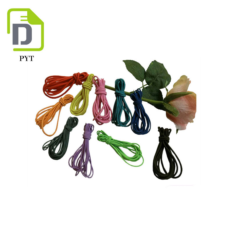 Wrap Elastic Waxed Polyester Cord 1mm