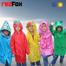 high quality durable kids rain poncho supplier