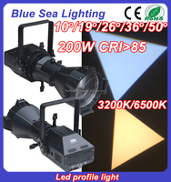 High power super bright led profile warm white led stage light