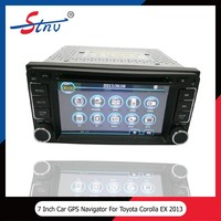 7 inch full touch audio dvd player navigation gps for Toyota Corolla EX 2013 car