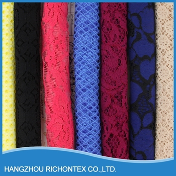 Environmental Cheap Promotional Lace Fabric New Sample