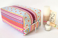 Cotton Beauty Cosmetic Case And Box