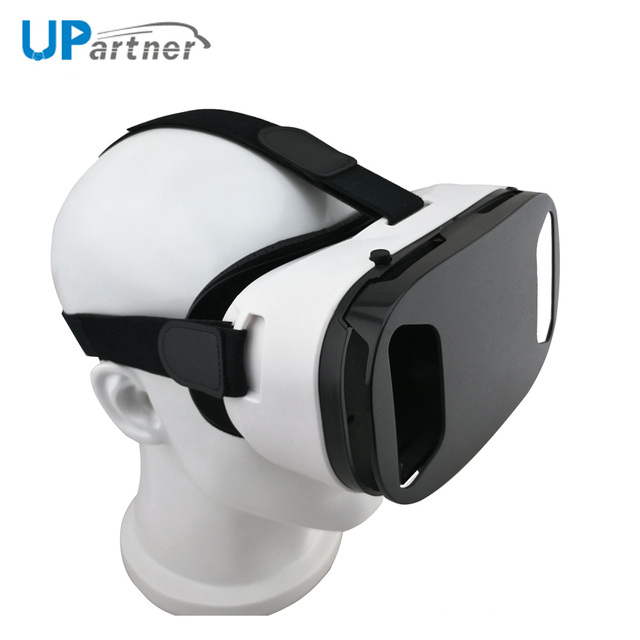 Upartner New! 3D Vr Blue Film Video Google Glasses Box Vr For Video Japan Girl Headset With Shooting Button