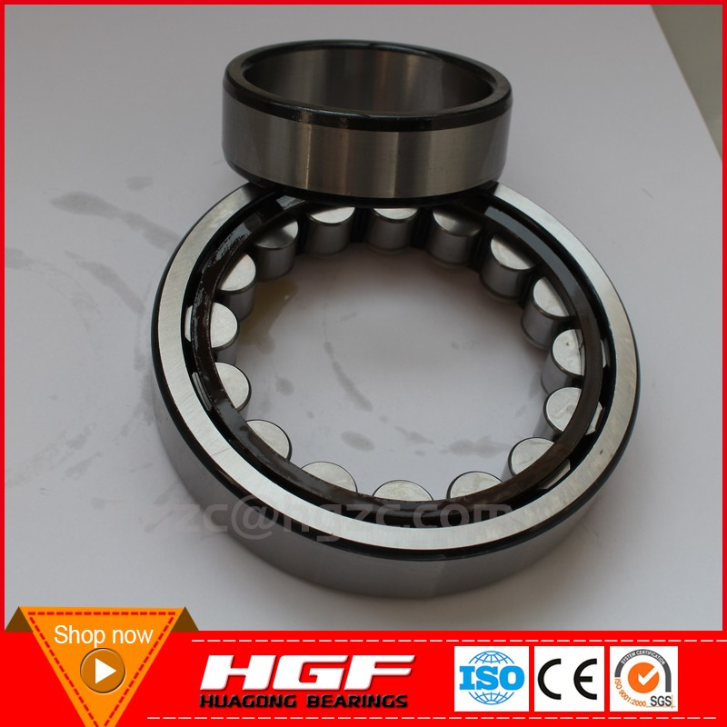 HGF factory price NU2208E NU2208EM NU2208 NU2208M cylindrical roller bearings