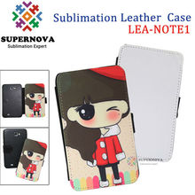 Customize wallet leather case for samsung galaxy note i9220