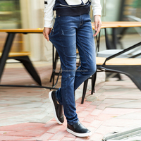 2016 fashion hot sale new style jeans men denim new pattern jeans tops