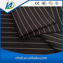 100 cotton black and white stripe printed clothing fabric