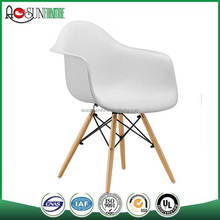 Commercial Furniture General Use and Modern Appearance Leisure Plastic Dining Chair