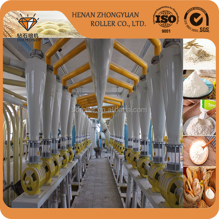 wheat flour processing mills maize milling plant