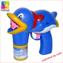 New style light bubble duck bubble gun