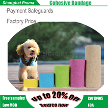 Own Factory Direct Supply (ce/fda/iso) Colorful Non-woven Elastic Cohesive Bandage printed medical equipment