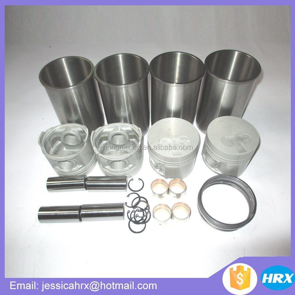 Forklift parts TD27 cylinder <strong>liner</strong> kits for <strong>Nissan</strong>