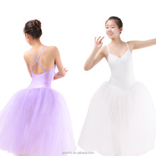 Dansgirl Classical 3 Layers Long Romantic Ballet Performance Tutu Dress