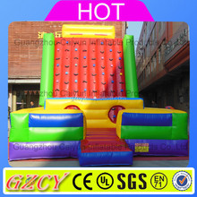 Factory price Popular inflatable velcro rock climbing wall