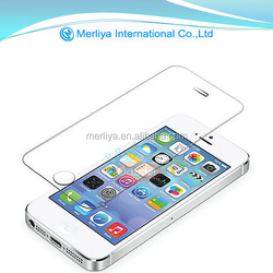 100% perfect fit tempered Glass screen protector for iphone4&5