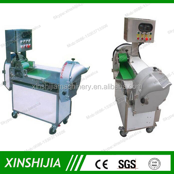Automatic leaf vegetable spinach cutting machine