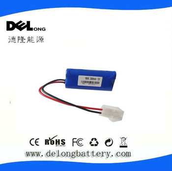 11.1v rechargeable cylindric li-ion battery pack