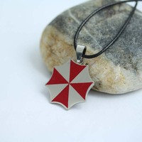 Resident Evil Umbrella Corporation Chain Pendant Necklace Movie jewelry necklace N-198