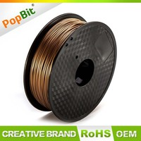 PLA Filament 1.75MM Metal Consumable For 3D Printer