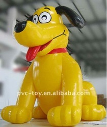 hot promotional pvc inflatable dog for kids