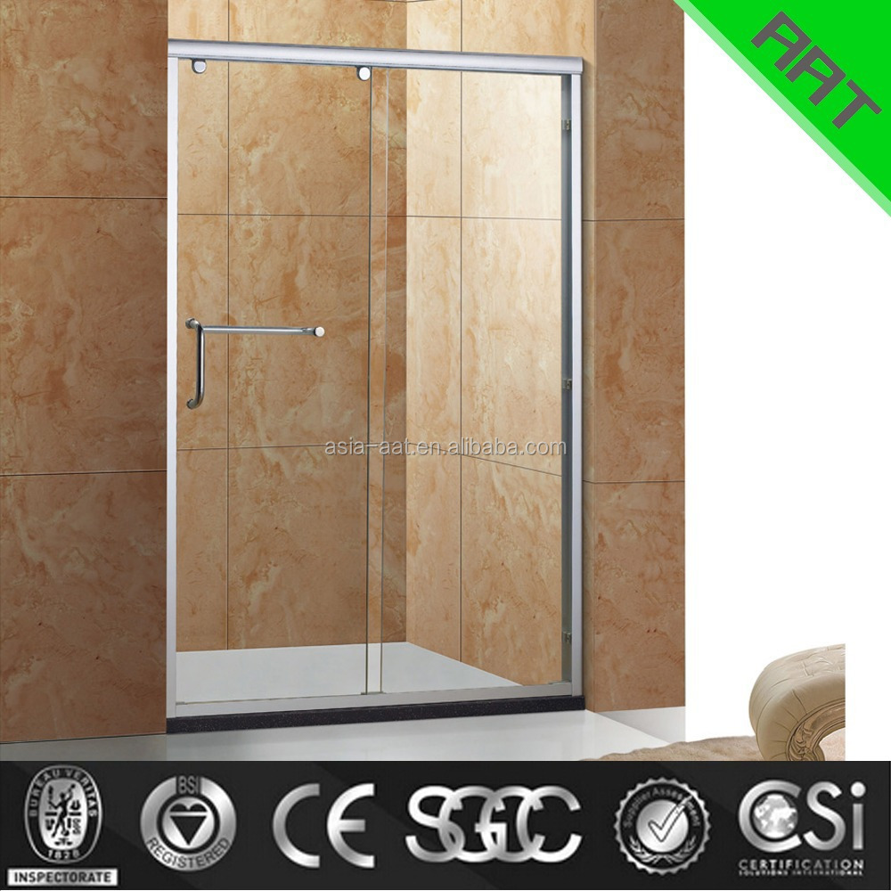 6-8 mm tempered glass shower screen sliding door screen