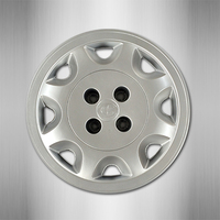 aftermarket Chinese car changhe furuida spare wheel cover 14 inch wheel hub cap wheel cover plastic PP material