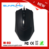 2016 Ergonomic Design cheap wired mouse drivers usb 3d optical mouse