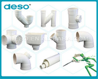 high quality all size of four way tee pvc pipe fittings in india