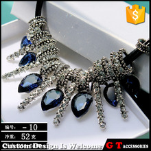 Hot New Products Cheap Statement Necklace With Crystal Rhinestone, Fashion Accessories For Women