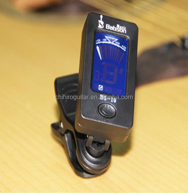 Cheap Guitar Chromatic tuner for string music instruments(BS-10)