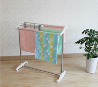 High Quality Free Standing Towel Rack/Clothes Drying Rack