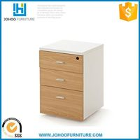 High quality mobile wooden cabinet small drawer for office
