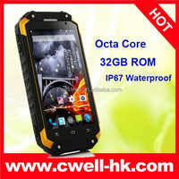 2015 Top 5 Quality X8 Rugged Smartphone Waterproof Shockproof And Dustproof ALPS Mobile Phone
