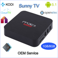 world best selling products G5B amlogic s905 android 5.1 smart tv box bluetooth s905 wifi ap6335 linux system openelec tv box