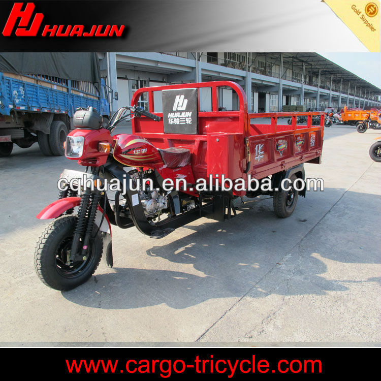 air cooled three wheel motorcycle/cng 4 stroke rickshaw