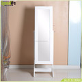 Goodlife white furniture jewelry cabinet mirror GLD13316